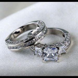925 CZ Diamond Engagement Ring 💍